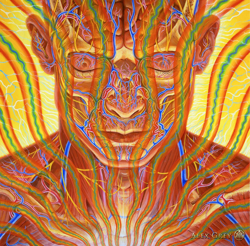 12 Mind Blowing Psychedelic Paintings By Visionary Artist