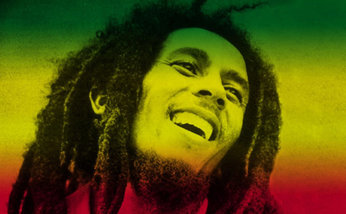 bob marley happy