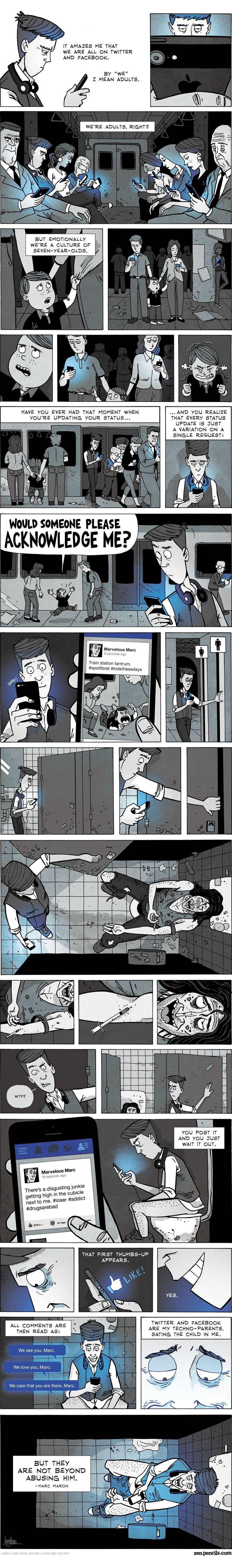 comic-social-media-generation-facebook-user