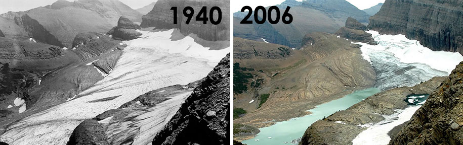 Image result for climate change before and after
