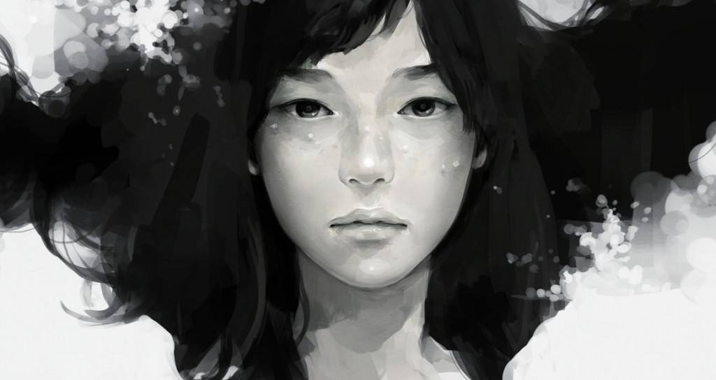 asian-woman-chinese-drawing