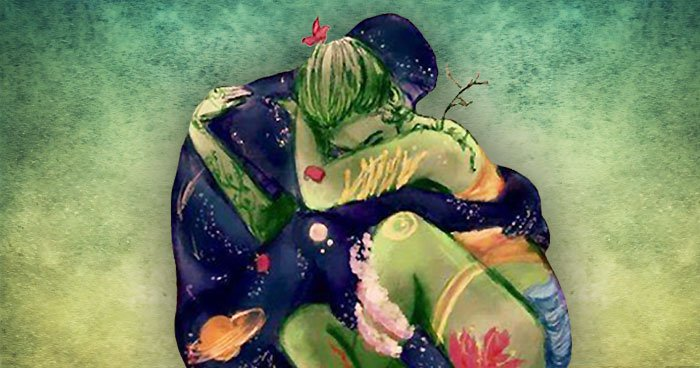 couple-hugging-painting