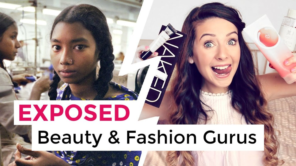 BEAUTY & FASHION GURUS EXPOSED! How Their Excessive Consumption Is Harming The World thumbnail