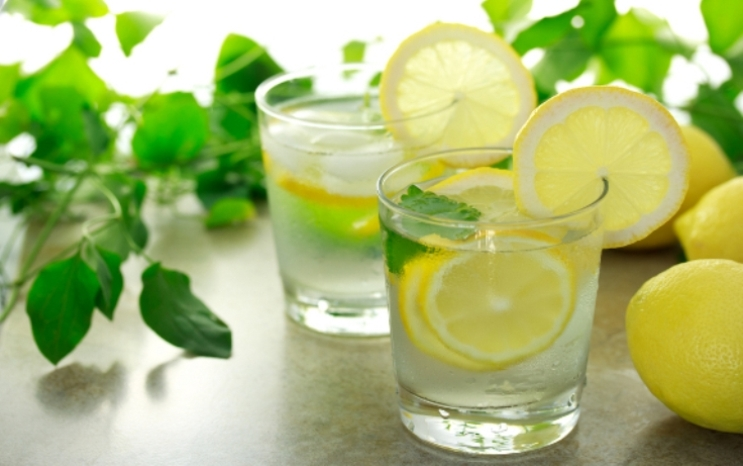 lemon-water