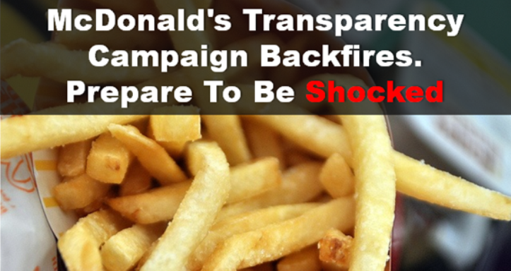 mcdonalds transparency