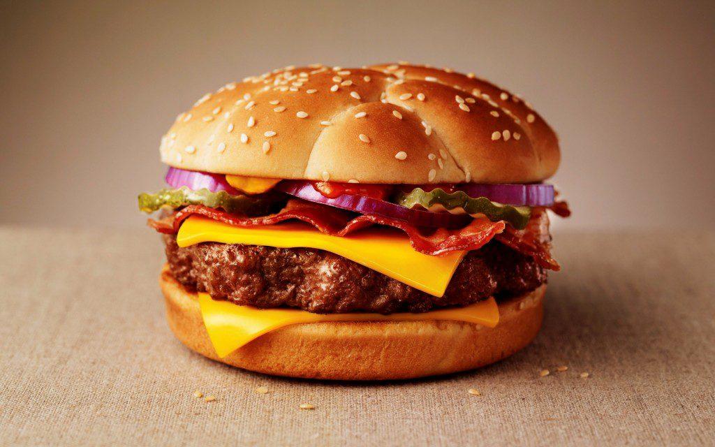 mcdonals burger