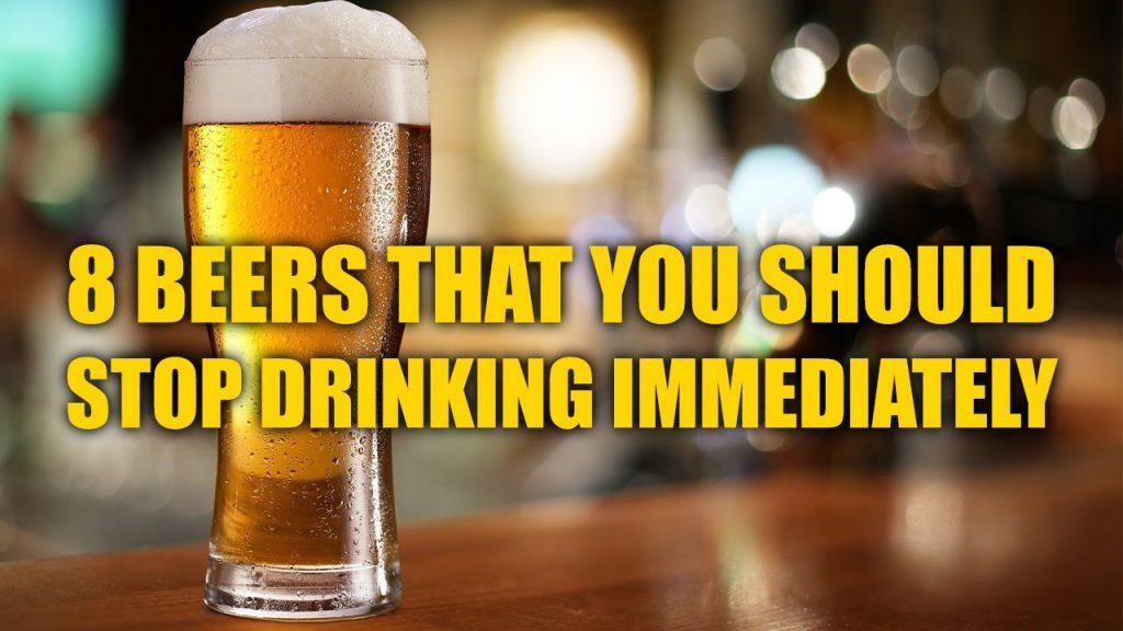 stop drinking beers