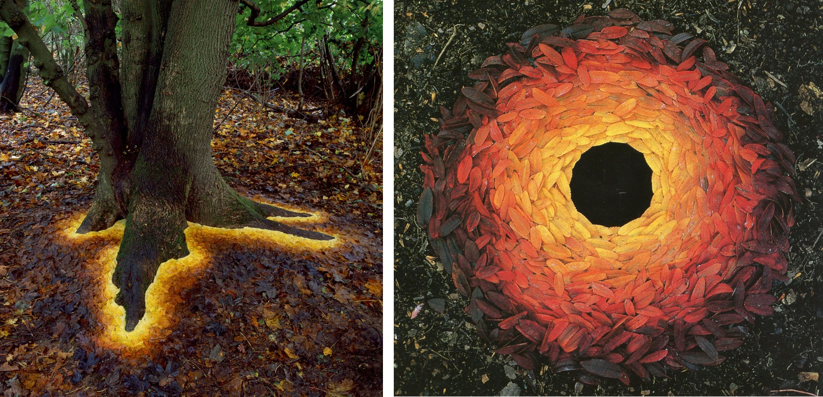 11 photos of magical land art beautifully formed in nature for Artiste nature