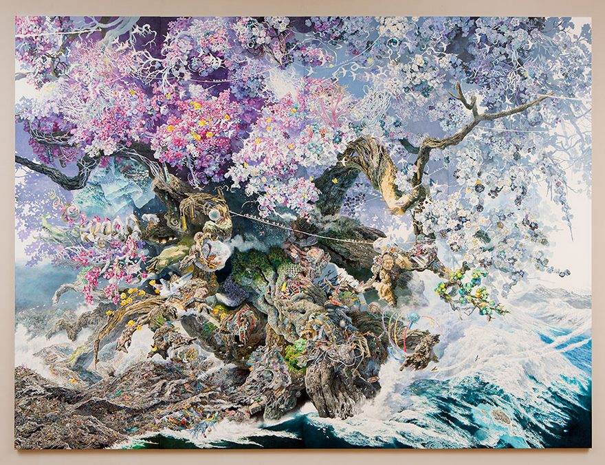 Japanese Artist Spent 3.5 Years On His Massive And Unbelievably Detailed Masterpiece thumbnail