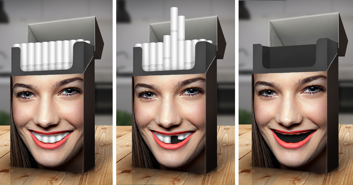 Clever Packaging: Designer Shows The Damaging Effects Of Tobacco On The Body thumbnail