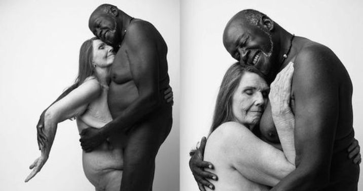 Nude Portrait Of An Elderly Couple Shows How Timeless Love Can Be thumbnail