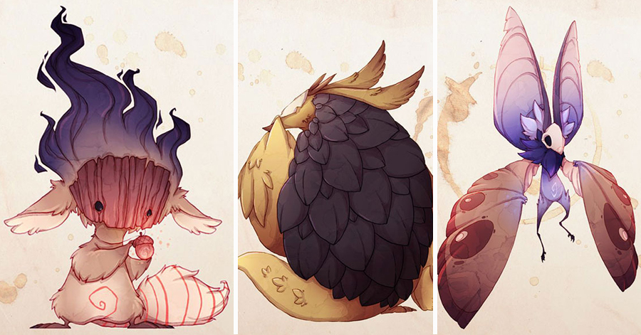 Artist Depicts His Own Anxieties As Cute Monsters In Order To Overcome His Problems thumbnail