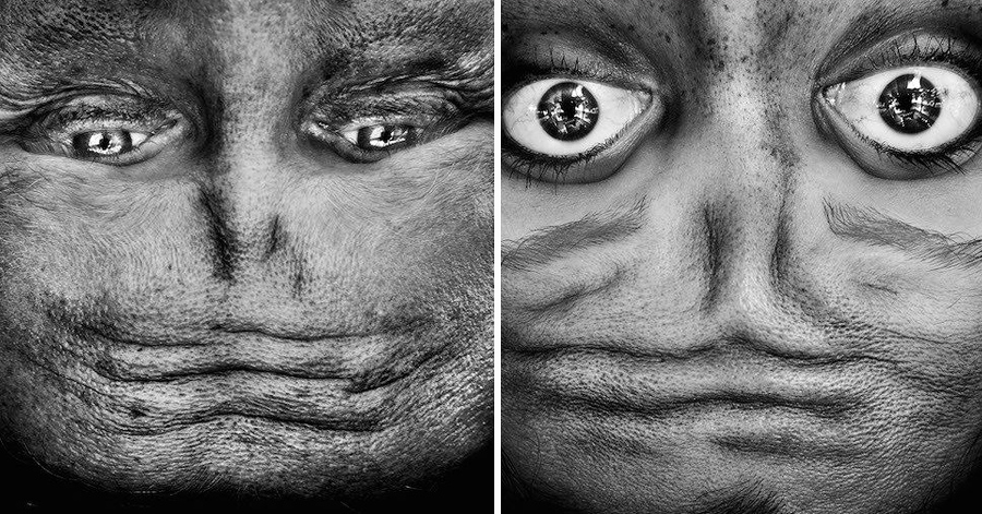 14 Random Human Faces Turned Into Creepy Alien-Like Optical Illusions thumbnail
