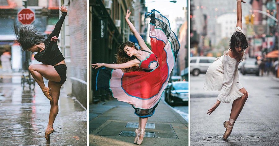 Artist Dynamically Captures Dancers On The Busy Streets Of New York In 22 Breathtaking Poses thumbnail