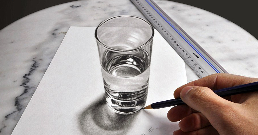 These Mind-Bending Photorealistic Paintings Will Make You Want To Grab Right Into The Paper thumbnail