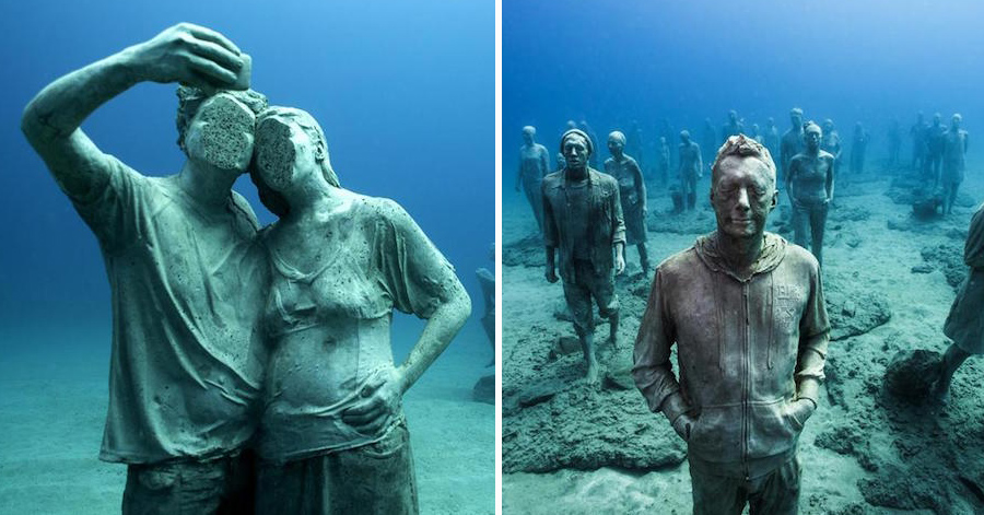 17 Breathtaking Images From Europe's First Underwater Museum thumbnail