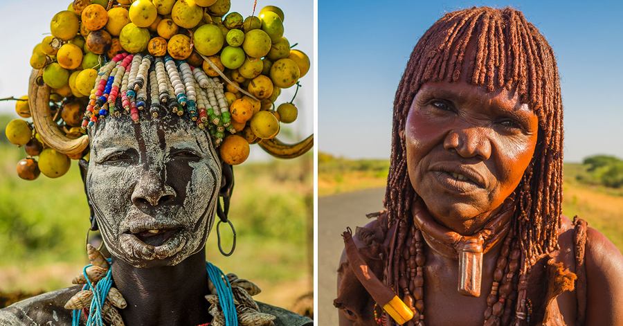 Photographer Captures The Exceptional Looks Of Tribal Women In A Stunning Photo Collection thumbnail