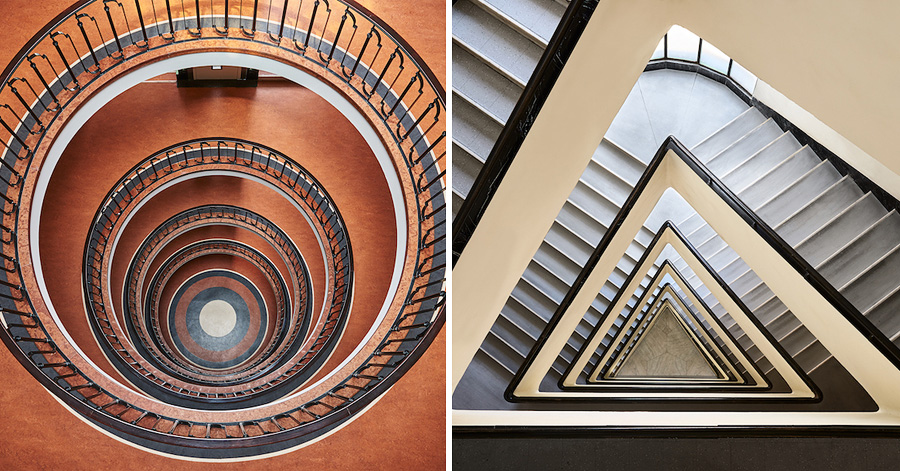 14 Hypnotizing Images of Budapest's Most Beautiful Staircases thumbnail