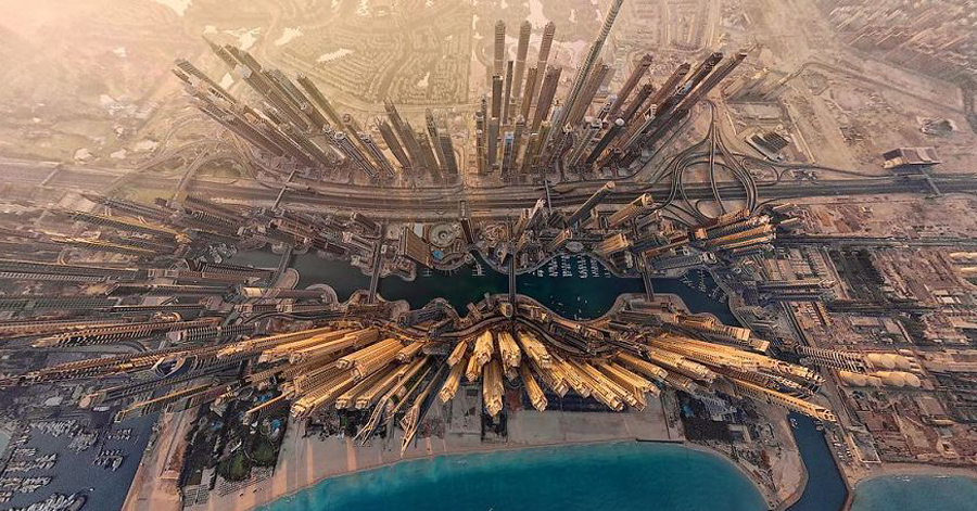 16 Spectacular Views of Cities Shot From High Above thumbnail