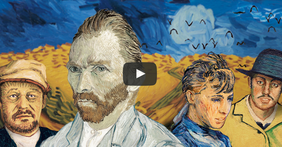 Incredible Movie About Vincent Van Gogh's Life Animated With 62,450 Oil Paintings thumbnail