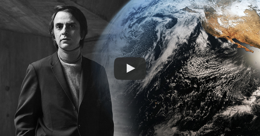 Carl Sagan's Important Message About Earth That Everyone Should Listen To thumbnail