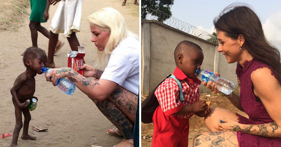 Starving Child Who Was Left By His Parents Got A Second Chance And Just Had His First School Day thumbnail