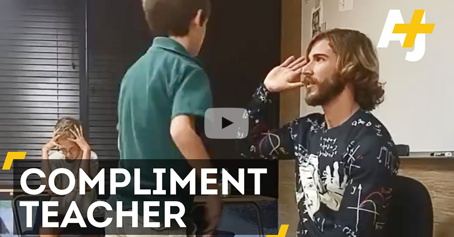Teacher Compliments His Students Every Single Day. The Result Is Amazing! thumbnail