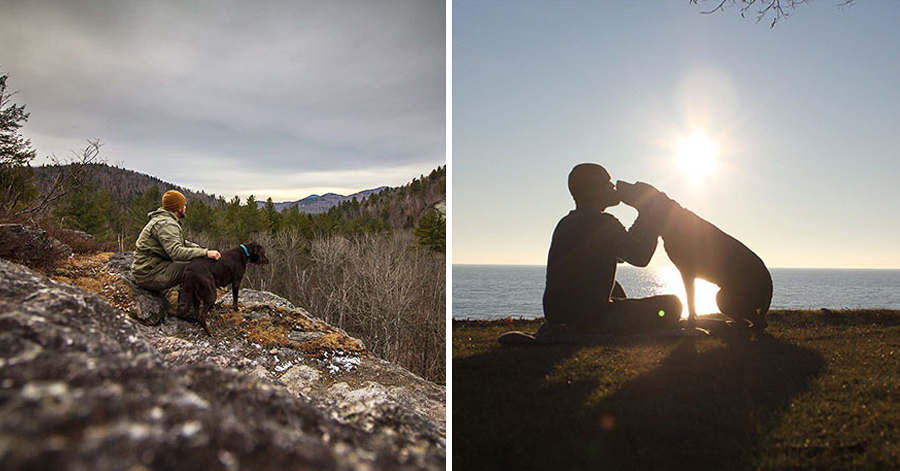 After He Found Out His Dog Had Cancer, He Took Her On An Epic Farewell Trip thumbnail