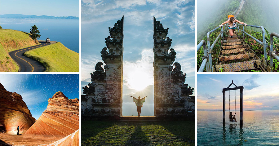 Guy Travels 2 Years In The Old Van Of His Grandmother & Captures Stunning Photos Of His Epic Journey