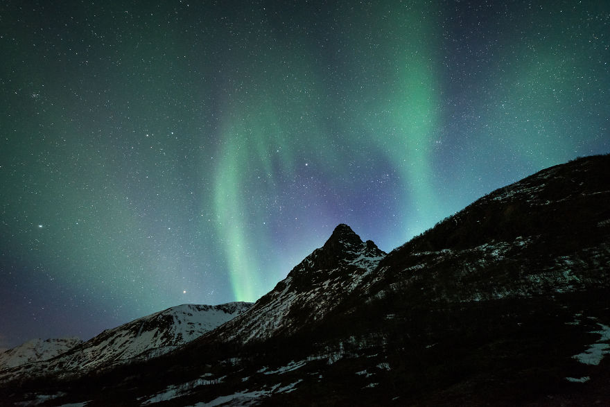 He Traveled Through Norway Experienced The Jaw Dropping Light Show Of A 5 Billion Star Hotel