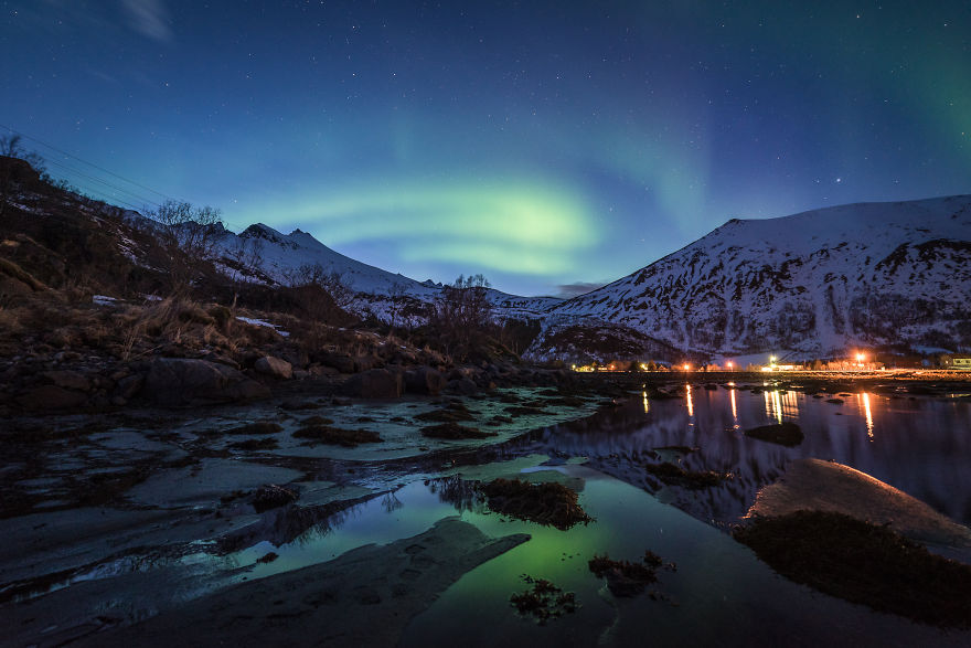 Jaw Dropping Light Show In 5 Billion Star Hotel Norway Damon Beckford 10