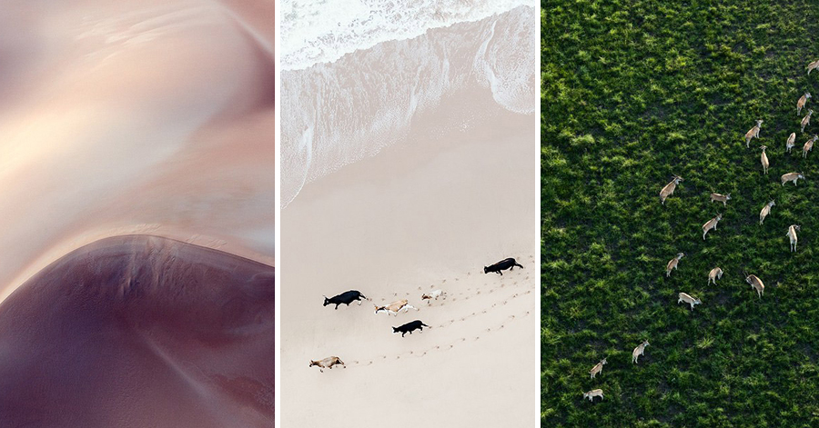 Mesmerizing Aerial Photos Show The Subtle Line Between Reality And Abstraction thumbnail