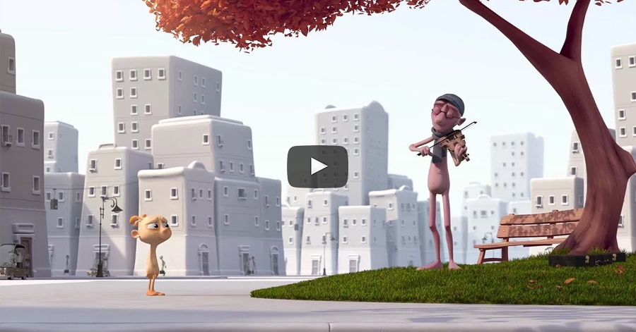 Incredibly Cute Animated Short Film Explains How Modern Society Kills Our Creativity thumbnail
