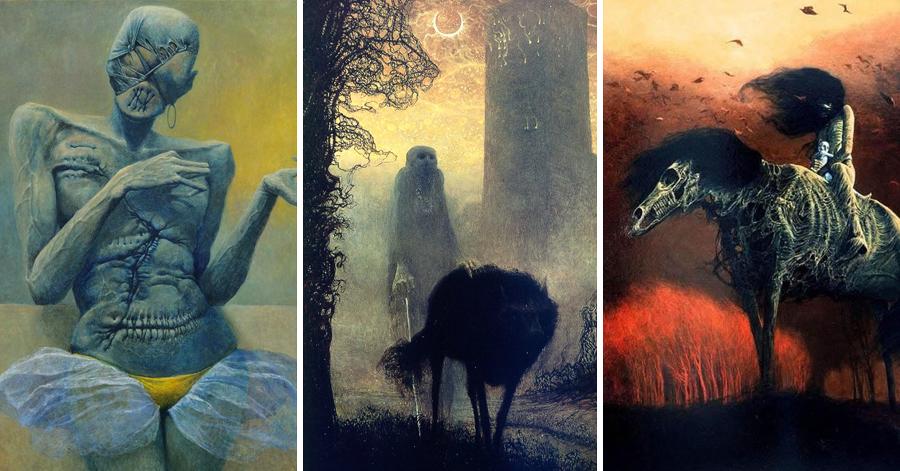 27 Hauntingly Dystopian Paintings