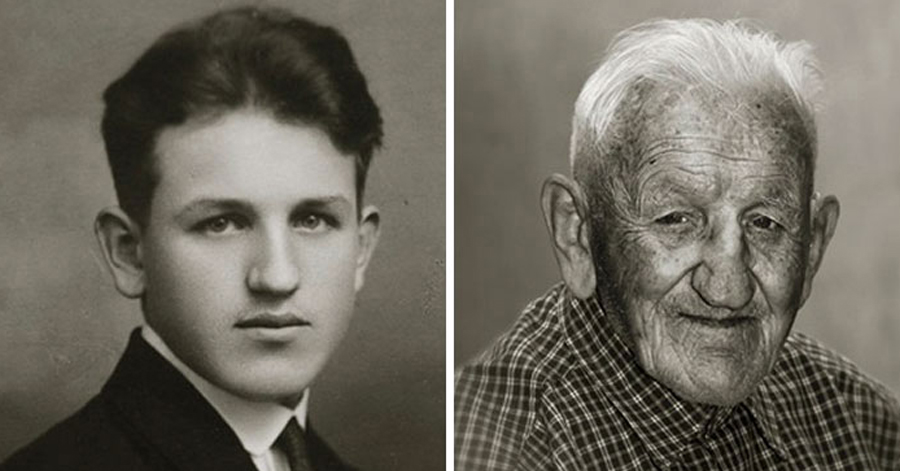 Intriguing Portrait Series Shows How People Aged From Young Adults To 100-Year-Olds