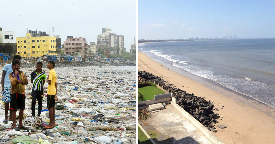 One Man Did The Impossible —  He Cleaned Up 5 Million Kg Of Rubbish From The Dirtiest Beach In The World!