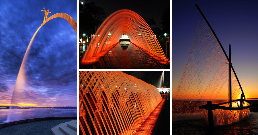 16 Magical Fountains From All Over The World thumbnail