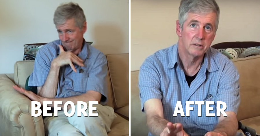 20-Year Long Parkinson's Sufferer Takes Marijuana For The First Time And His Condition Improves In An Instant