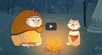 An Animated Video About The Angry And Loving Wolf In Us & The Power of Mindfulness