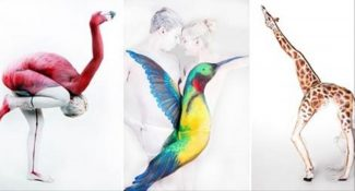 20 Mind-Blowing Animal Body Paintings. #15 Is Unbelievable!