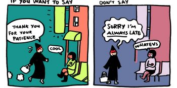 "These Smart Comic Strips Show Why You Should Stop Saying ""Sorry"" And Say ""Thank You"" Instead"