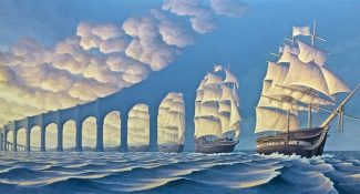25 Mind-Bending Optical Illusion Paintings