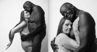 Nude Portrait Of An Elderly Couple Shows How Timeless Love Can Be
