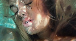 Painter Creates Unbelievably Realistic Paintings Of Women Underwater