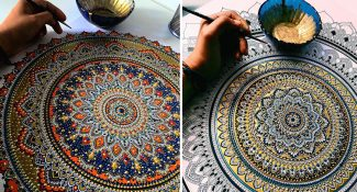 This Artist Brings Hyper-Complex Mandalas To Life That Look Truly Majestic